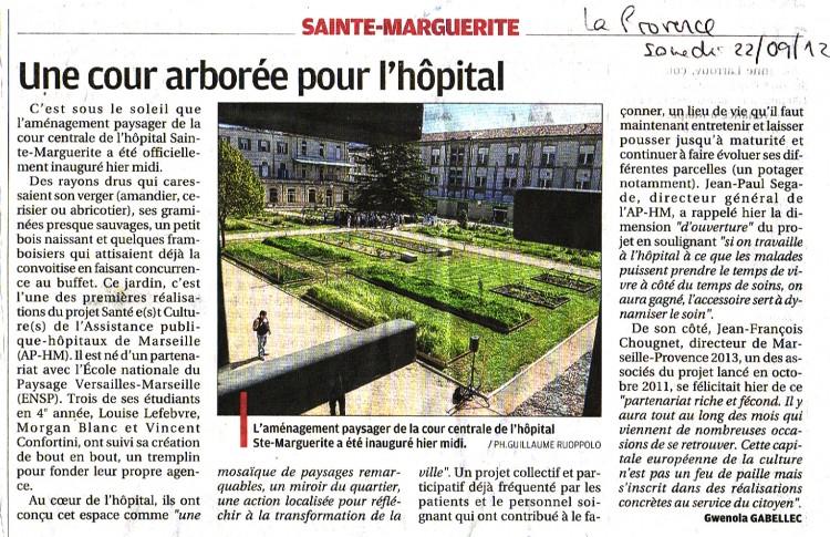 La Provence - 22.09.2012 copie